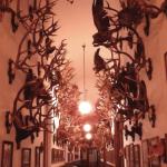 鹿狩の鹿の角